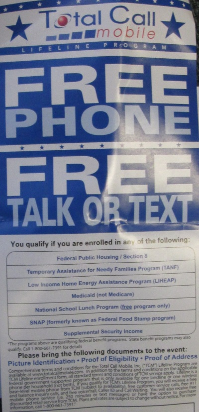 free cell phones, free Obama phones, free Obama cellphones, free cellphones - Total Call Mobil Lifeline Program - (800)661-7391 - (602)348-1123 - Michelle - http://www.totalcallmobile.com
