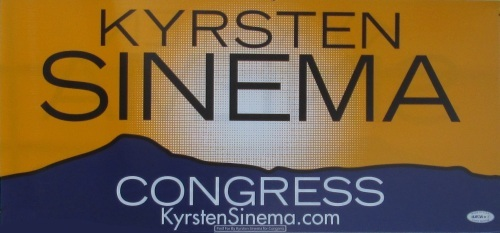 It's to boot U.S. Congresswoman Kyrsten Sinema out of office - She tried to slap a 300 percent, thats a 300%, $900 and ounce tax on medical marijuana